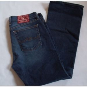 Lucky Brand Size12/31 low rise flare blue Jeans